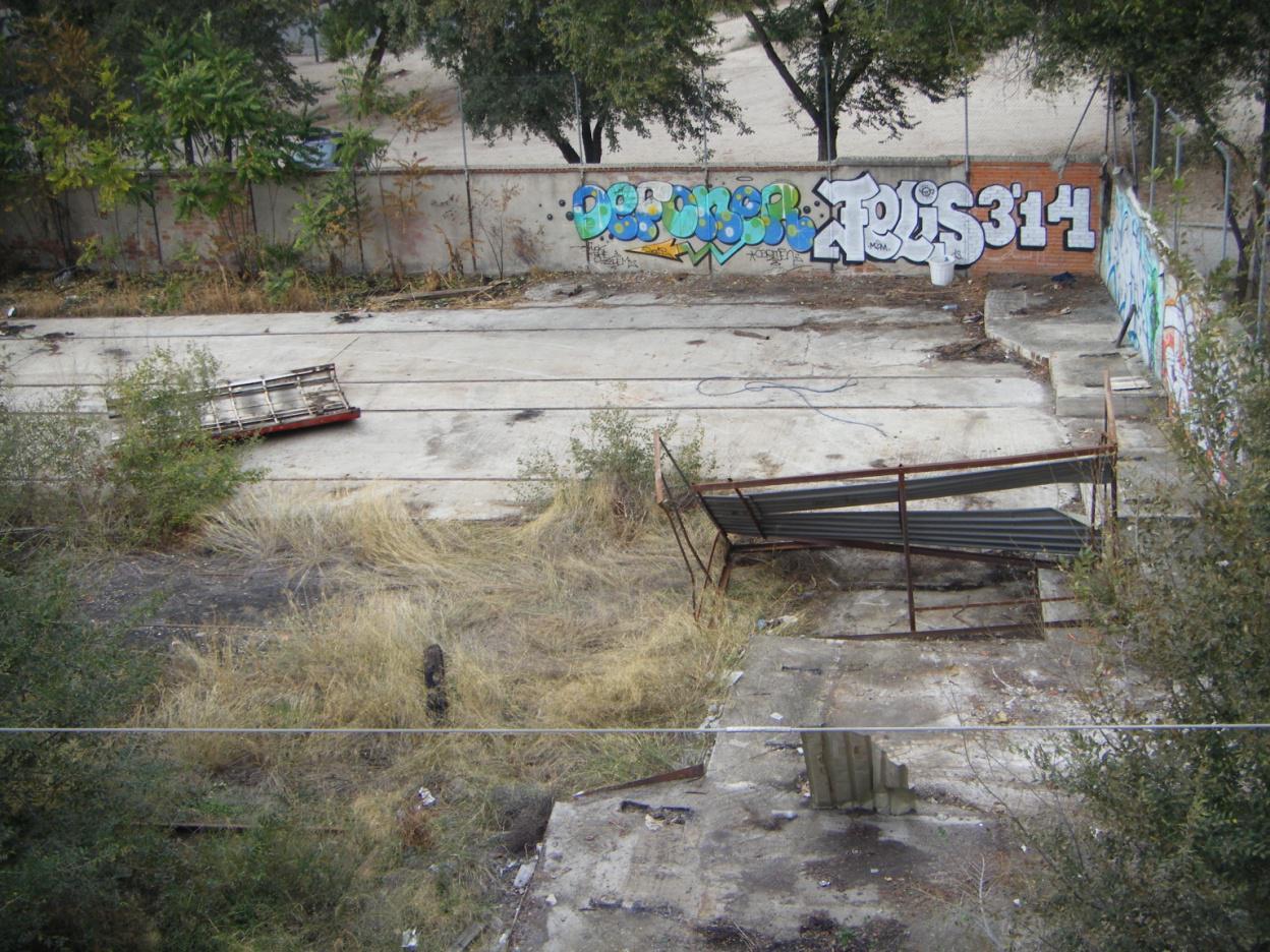Foto 52.- El 23 de octubre ha desaparecido únicamente la pieza más próxima al foco