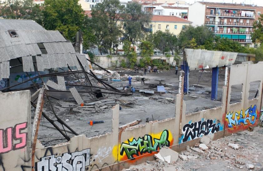 Foto 59.- Continúan los destrozos y el expolio el 26 de octubre