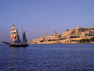 Amanece en Malta