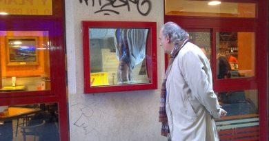 Manuel Artero Rueda en el callejón del gato