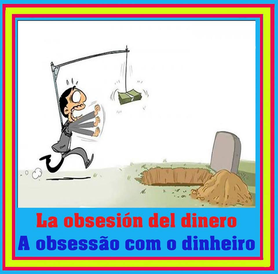 la obsesión del dinero