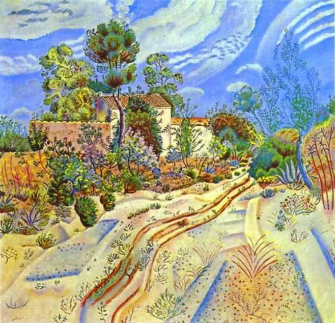 paisaje de Joan Miró