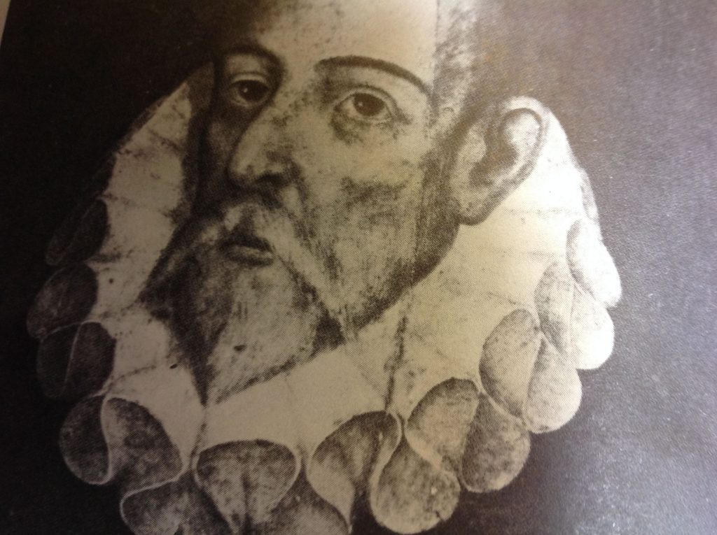 retrato popular de Cervantes