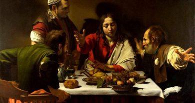 Cena en Emaús de Caravaggio