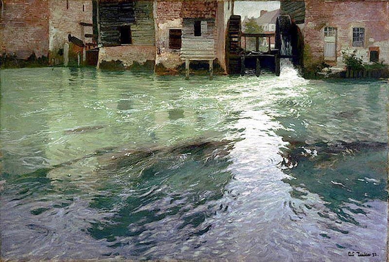 Frederik Thaulow Mulino ad acqua
