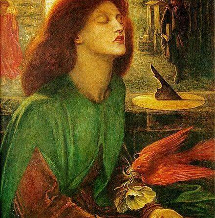 Beatrix Beata de Dante Gabriel Rossetti