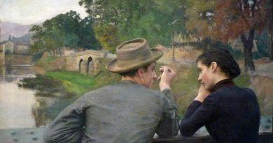 Émile Friant Les amoureux