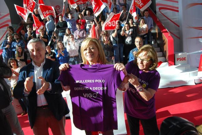 El derecho a decidir de Elena Valenciano