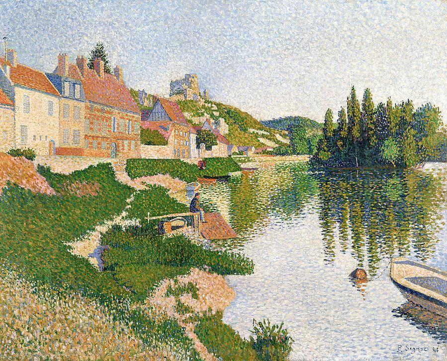 La orilla del río de Paul Signac