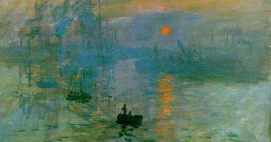 Monet Impresión sol naciente