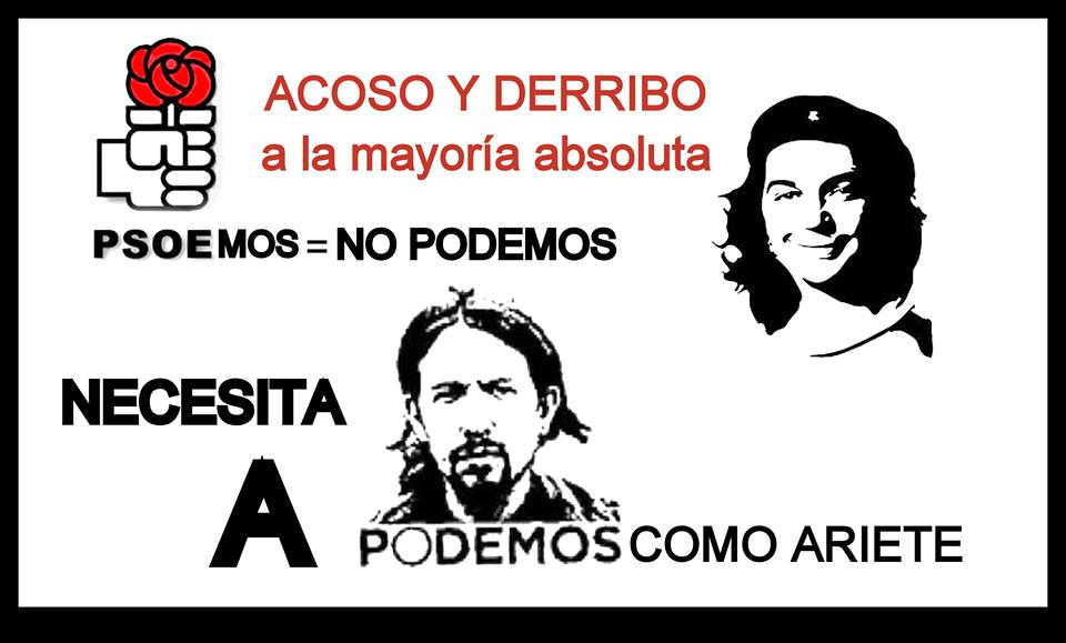 PSOE y PODEMOS de Ariete