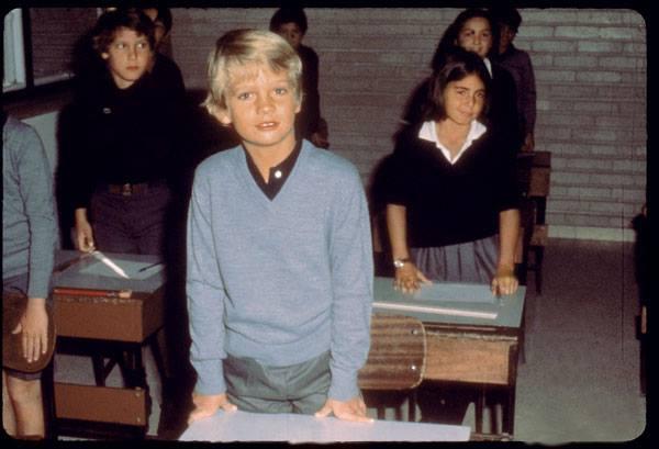 El Rey Felipe VI de niño