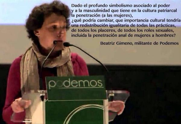 La pava de Podemos