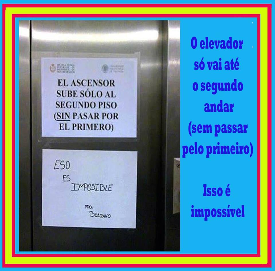 El ascensor sube al seugundo, sin pasar por el primero