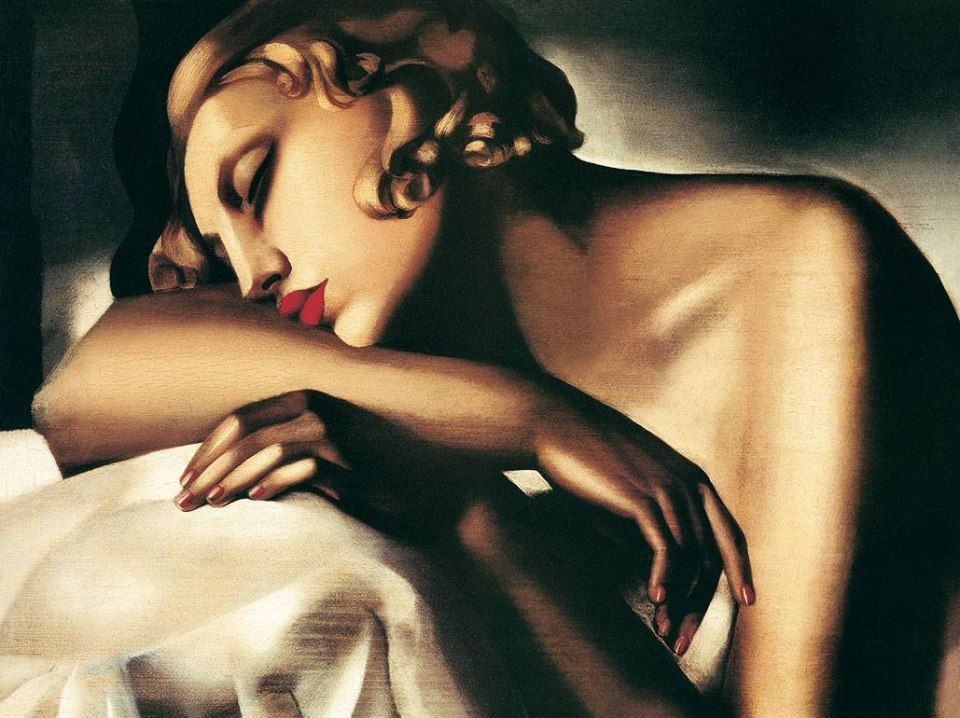 Tamara de Lempicka La dormiente