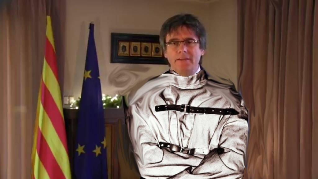 Yo soy Puigdemont I el Trapisondista, líder de Tractoria, de Tabarnia, del Condado de Ampurias, senyor de Tebetres, comedor de calçots, hacedor de cosas, cosas catalanas