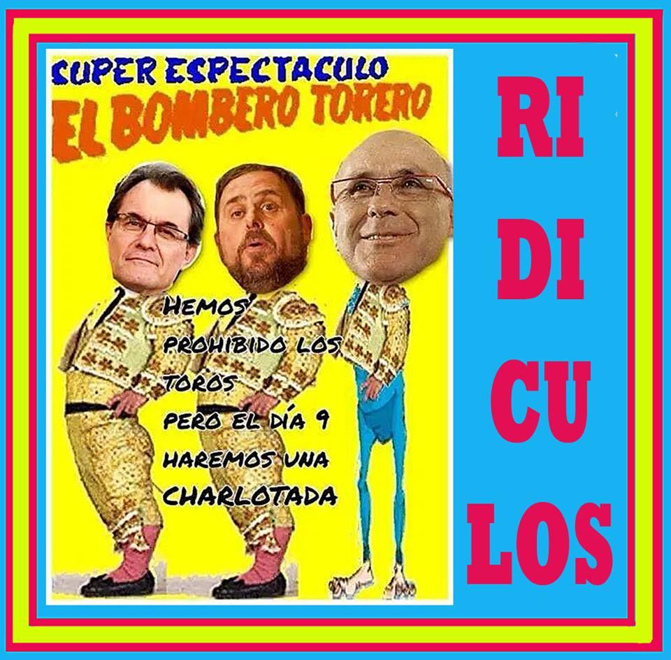 El Bombero Torero y la charlotada catalana