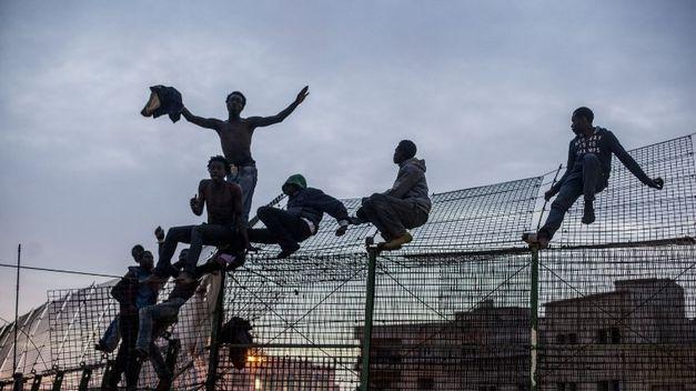 La valla de Melilla es asaltada otra vez