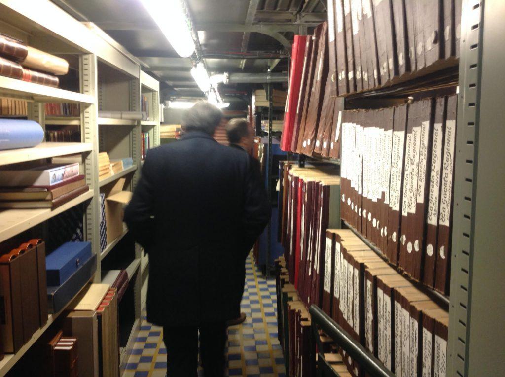 Tras diez años de trrabajo en el corazón del Archivo Policarpo crea la Asociación Salvar el Archivo de Salamanca