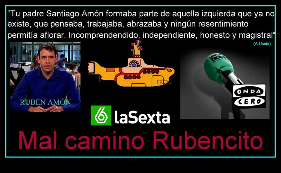 Mal cmino Rubencito Amón