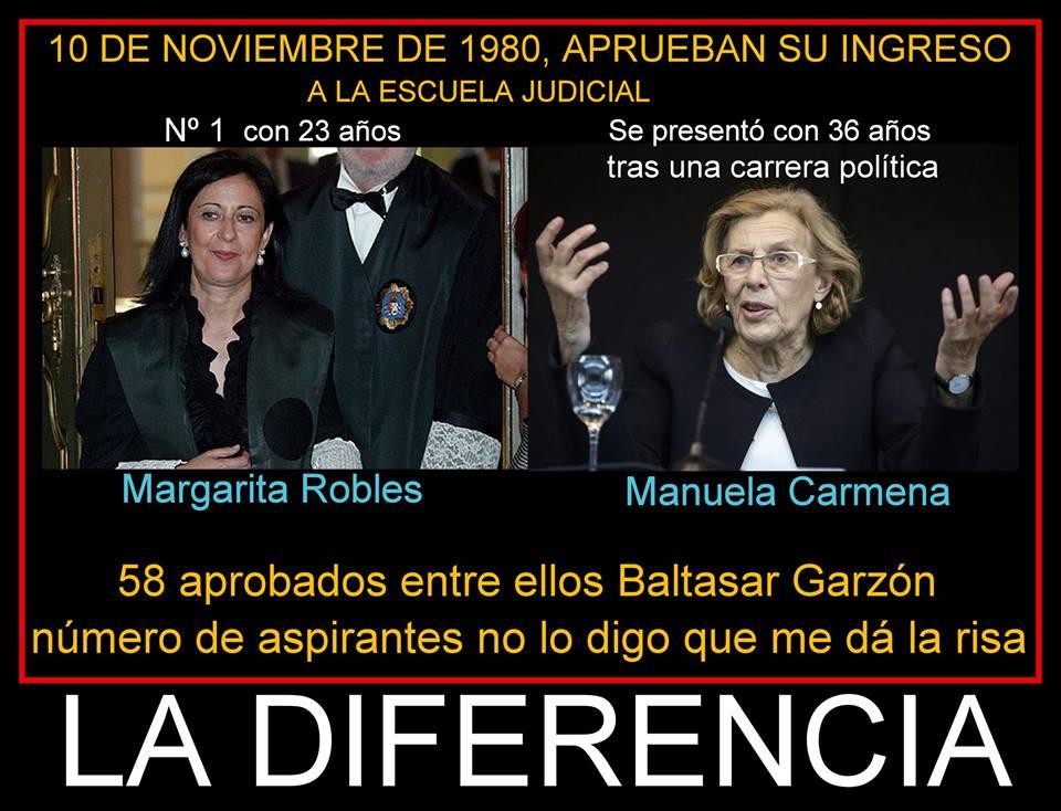 La Justicia y los jueces La diferencia
