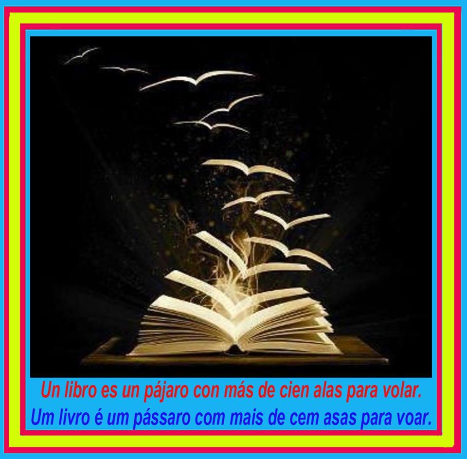 Un libro es un pájaro con más de cien alas para volar