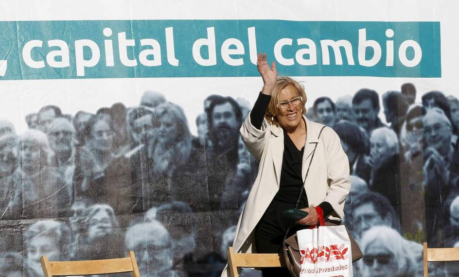 Carmena en campaña