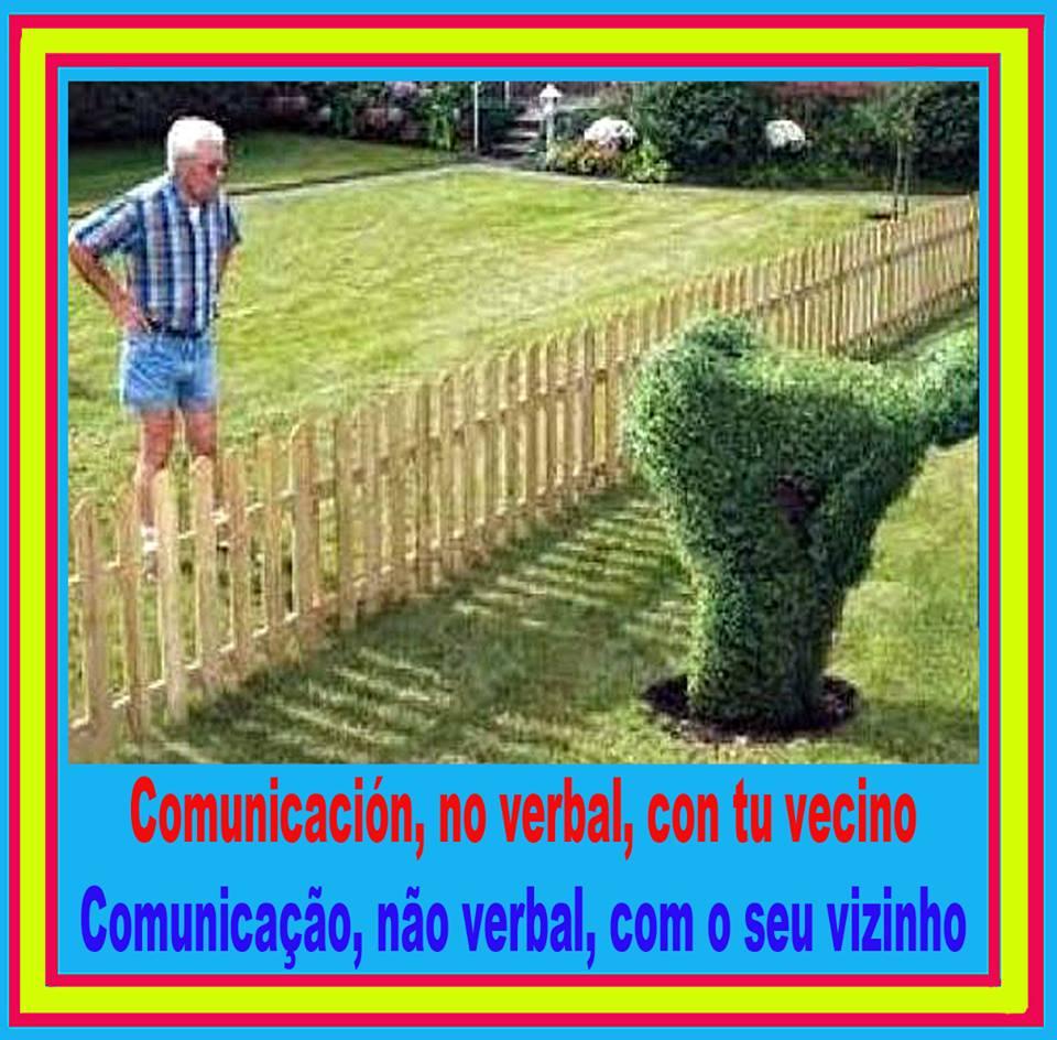 Comunicacion, no verbal, con tu vecino