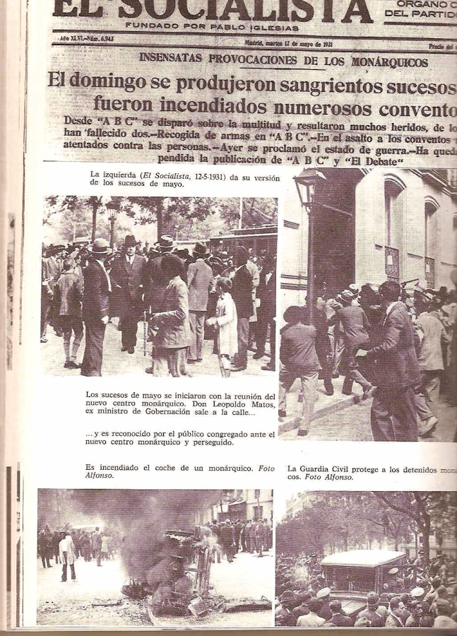 Los sucesos de 1931