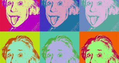 Einstein por Warhol