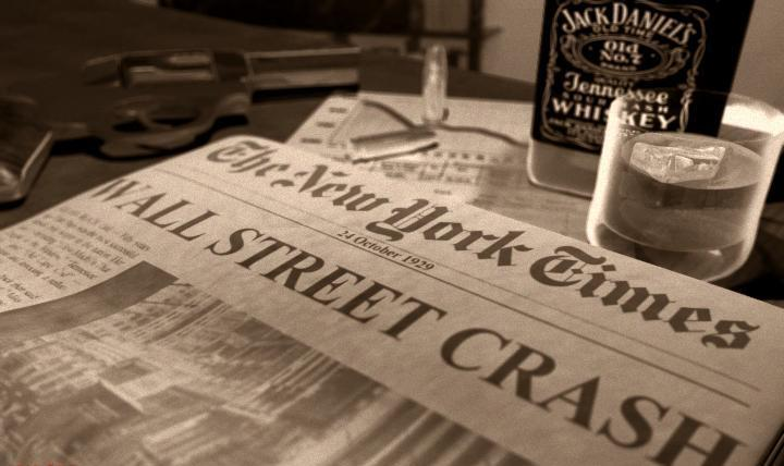 la crisis de 1929 en Wall Street