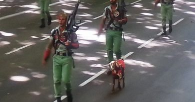 La legión en el desfile de la Fiesta Nacional 3