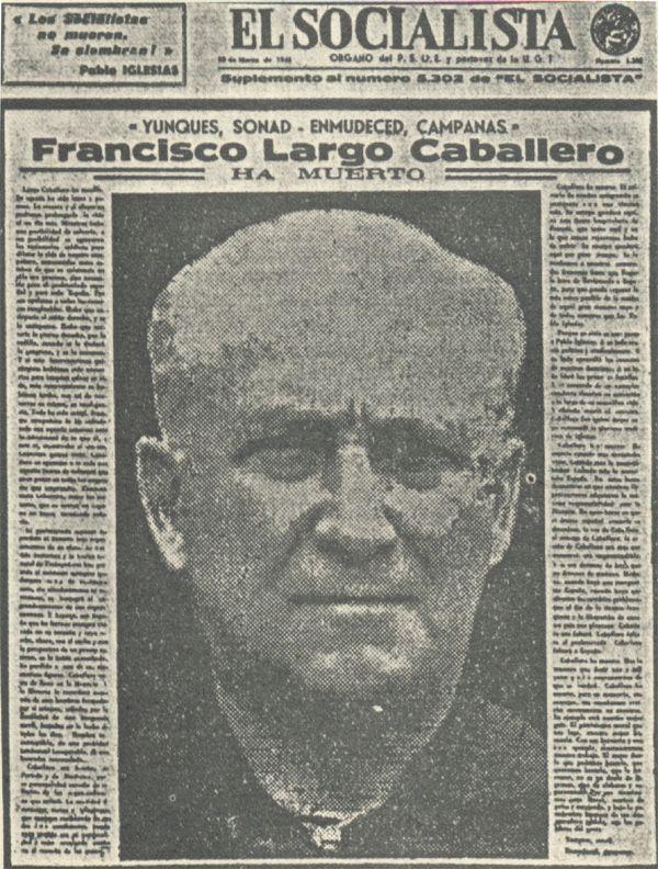 Largo Caballero el Lenin español