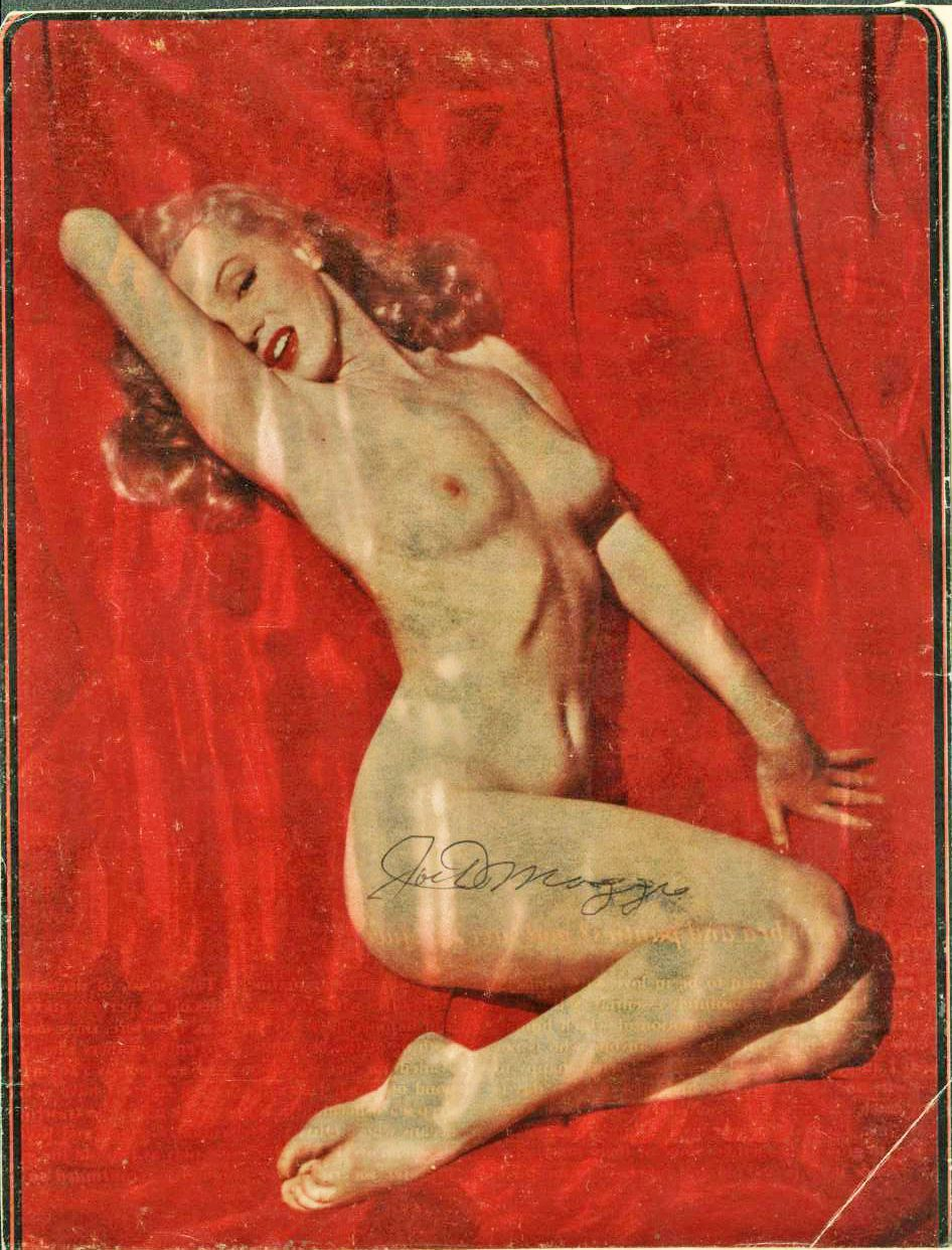 Marylin en el primer Playboy