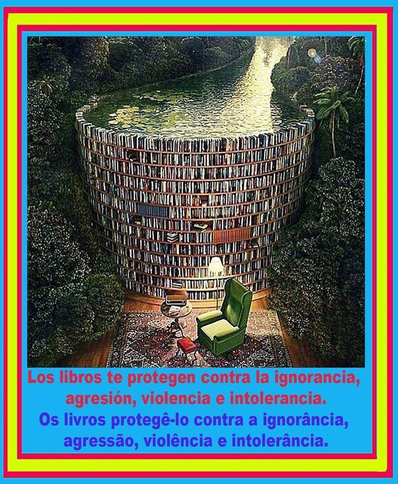 Los libros protegen contra la