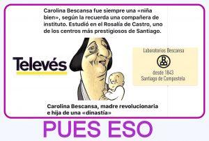 Carolina Bescansa madre revolucionaria e hija de una dinastía