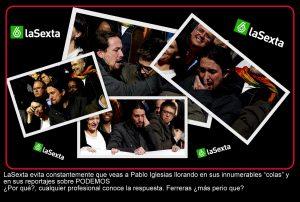 Ferreras y Pablo Iglesias llorando Más Perio qué