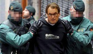 La imagen soñada por muchos Artur Mas detenid