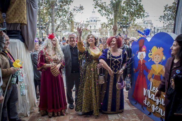 Las magas de enero en el Ayuntamiento de Valencia