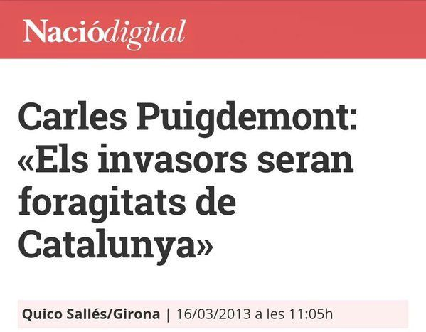 Los extranjeros serán expulsados de España