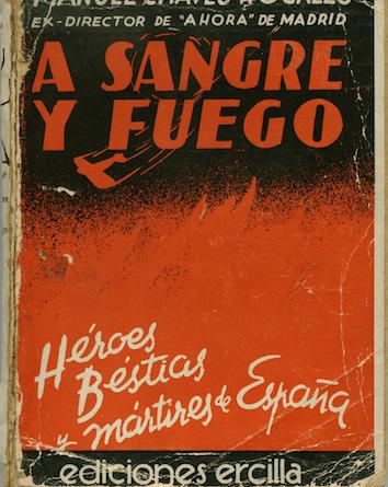 Portada de la primera edición de A Sangre y Fuego