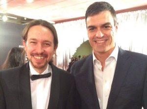 Iglesias y Sánchez en los Goya