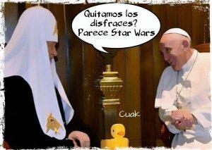 Papa Francisco siempre sorprendiendo