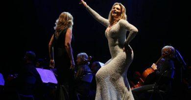 Las mejores imágenes del concierto de Ainhoa Arteta