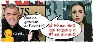 El secretario de organización de Podemos es cesado por gestión deficiente