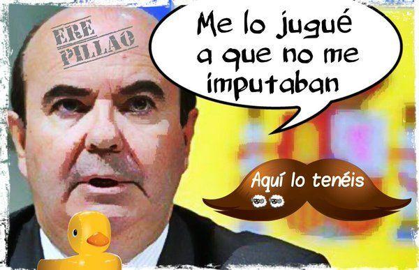 El Superintendente Vicente de la Junta de Andalucía declara como imputado por el superpufo de los Ere