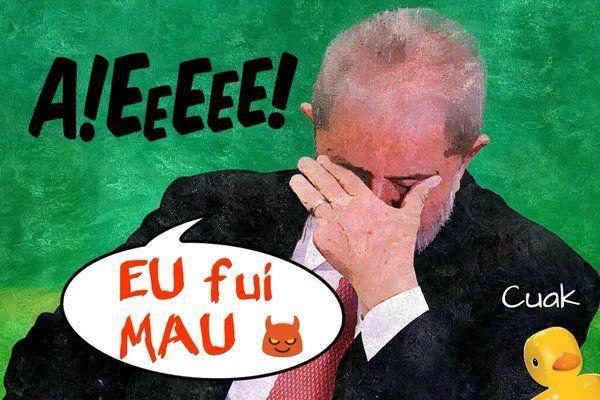 Lula, te han pillado