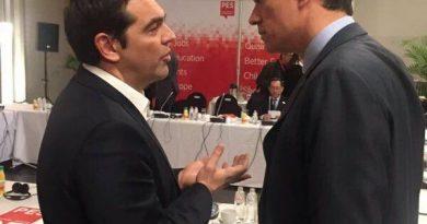 Sánchez y Tsipras