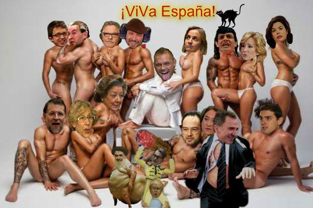 Viva España. Ilustrción de José Ignacio Díaz Gómez. http://joseignaciodiazgomez.blogspot.com.es/