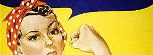 Cartel de la mujer trabajadora